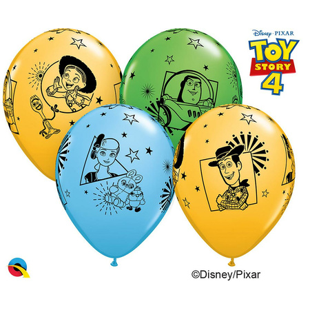 10 Luftballons Toy Story 26cm