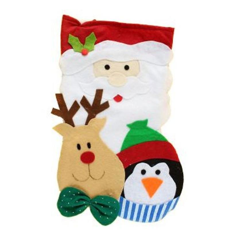 Weihnachtssocke mit Pinguin & Rentier, 3,98 € - Partyklar.de