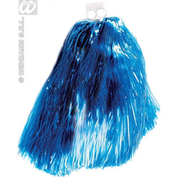Cheerleader Pompon blau