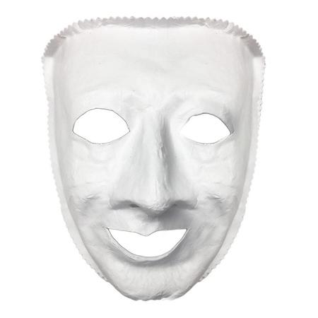 Gesicht Weiss Theatermaske Partyklar De Ihr Fasching Partyshop Fur