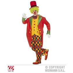 Clown Red Hat Kostüm Herren L 52/54