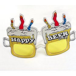 Brille Happy BeerDay Bierkrüge