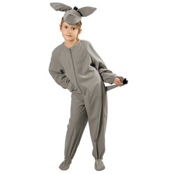 Kinder Eselkostüm Tier Kostüm 3-5 Jahre Esel Tierkostüm Kinderkostüm Overall
