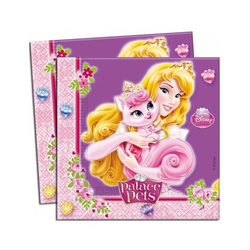 Princess Palace Pets 20 Servietten