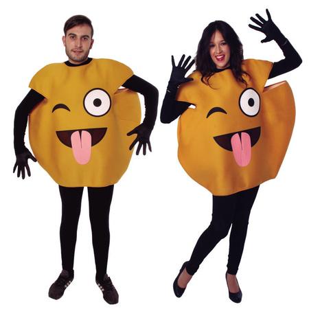 Smiley Emoticon Emoji Karnevalskostum Partyklar De Ihr Fasching