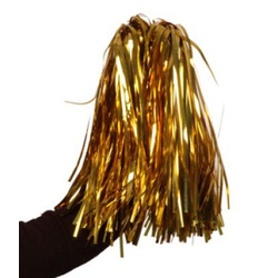 Cheerleader Pompons Cheerleading gold
