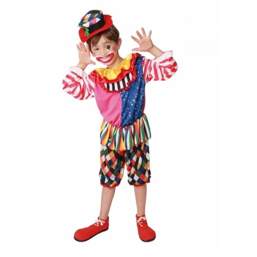 lustiger clown junge kinderkost m 15 90 i. Black Bedroom Furniture Sets. Home Design Ideas